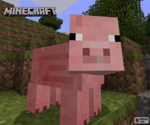 puzzel Minecraft varken