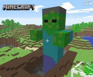 puzzel Minecraft Zombie