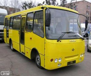 puzzel Minibus Isuzu Bogdan A092