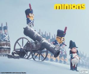 puzzel Minions en Napoleon