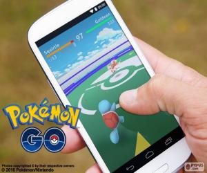 puzzel Mobile met de app Pokémon GO