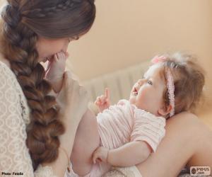 puzzel Moeder en haar baby