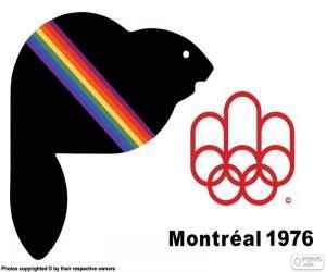 puzzel Montréal 1976 Olympische Zomerspelen