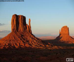 puzzel Monument Valley, Verenigde Staten
