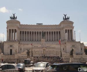 puzzel Monument van Victor Emanuel II