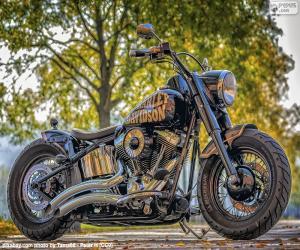 puzzel Mooie Harley-Davidson