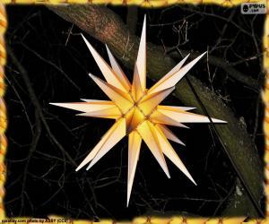 puzzel Moravische ster