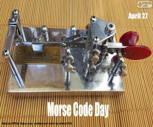 puzzel Morse Code Dag