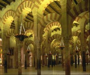 puzzel Moskee, de plaats van de aanbidding van de islam