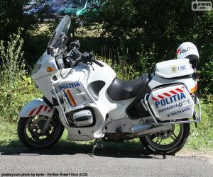 puzzel Motorfiets politie, Roemenië