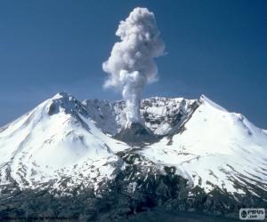 puzzel Mount Saint Helens