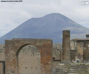 puzzel Mount Vesuvius