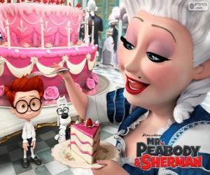 puzzel Mr. Peabody en Sherman in Frankrijk