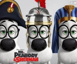 puzzel Mr. Peabody