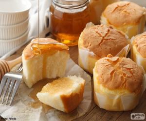 puzzel Muffins met honing