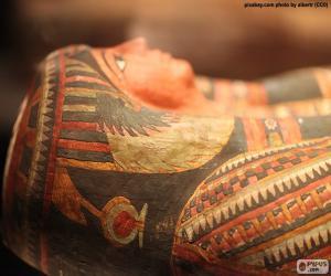 puzzel Mummie van farao