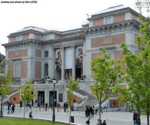 puzzel Museo del Prado, Madrid