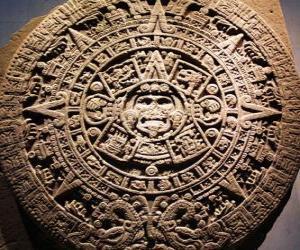 puzzel Mystic Azteekse kalender