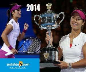 puzzel Na Li kampioen Open Australië 2014
