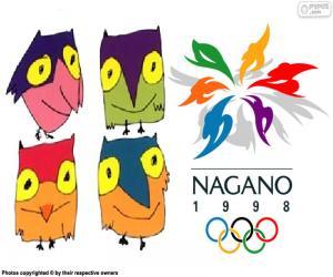 puzzel Nagano Olympische Winterspelen 1998