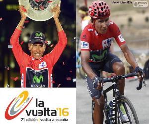 puzzel Nairo Quintana, 2016 Vuelta a España
