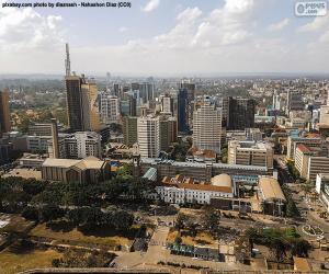 puzzel Nairobi, Kenia