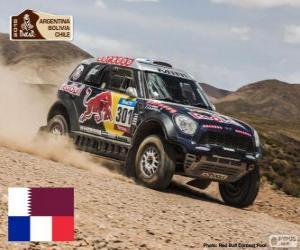 puzzel Nasser Al - Attiyah, Dakar 2015