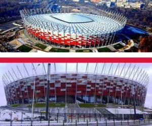 puzzel Nationale stadion, Warschau (58.145), Warschau - Polen