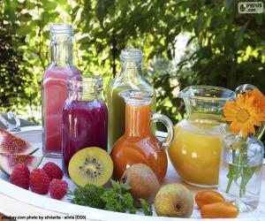 puzzel Natuurlijke vruchtensappen