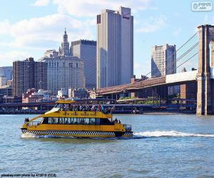 puzzel New York-watertaxi
