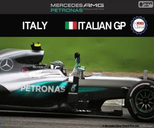 puzzel Nico Rosberg, G.P Italië 2016