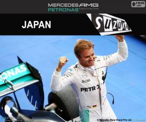 puzzel Nico Rosberg, Grand Prix van Japan 2016