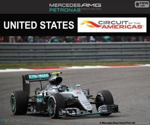 puzzel Nico Rosberg, Grand Prix Verenigde Staten 2016