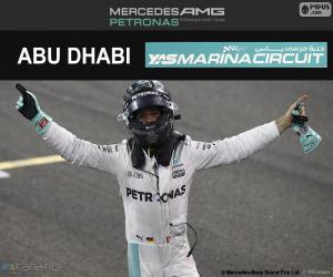 puzzel Nico Rosberg, kampioen F1 2016