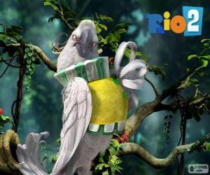 puzzel Nigel in de film Rio 2