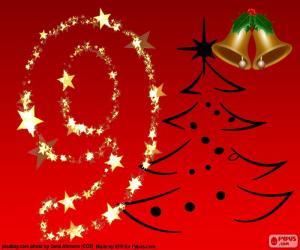 puzzel Nummer 9 kerst