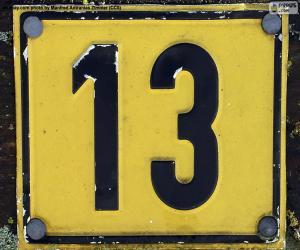 puzzel Nummer dertien