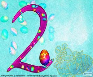 puzzel Nummer twee van Pasen