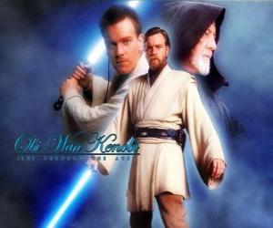 puzzel Obi-Wan Kenobi, een Jedi Masters