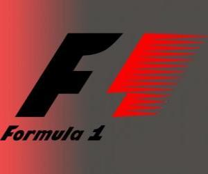 puzzel Officiële Logo Formule 1