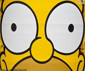 puzzel Ogen van Homer Simpson
