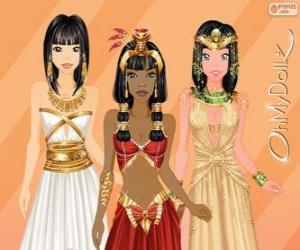puzzel Oh My Dollz Egyptische