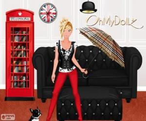 puzzel Oh My Dollz Londen
