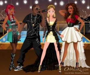 puzzel Oh My Dollz music group