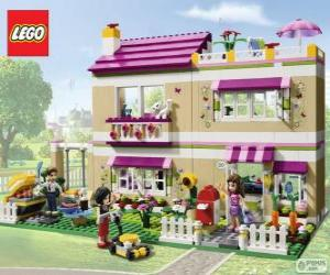 puzzel Olivia's huis, Lego Friends