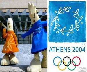 puzzel Olympische spelen Athene 2004