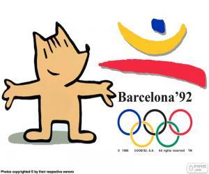 puzzel Olympische Spelen Barcelona 1992