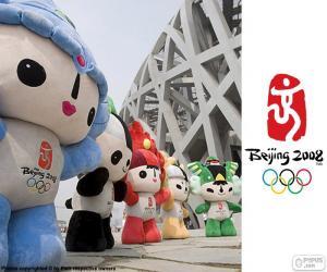 puzzel Olympische spelen in Peking 2008