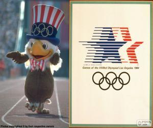 puzzel Olympische spelen-Los Angeles 1984