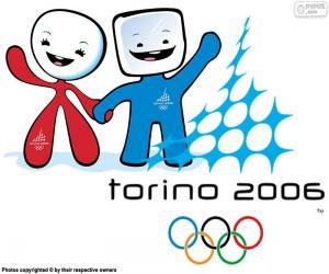 puzzel Olympische Spelen Turijn 2006